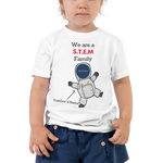 Load image into Gallery viewer, STEM Family T-shirt For A Toddler