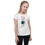 Load image into Gallery viewer, STEM Family T-Shirt For A Girl