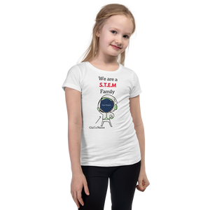 STEM Family T-Shirt For A Girl