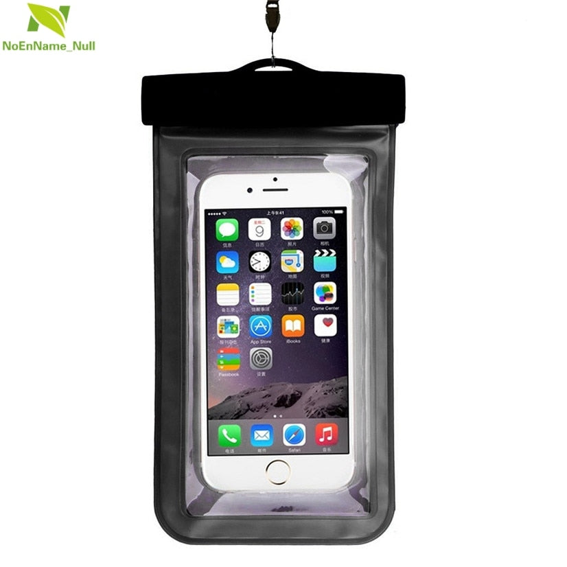 Universal Waterproof Pouch Cell Phones Portable Bag Convenient to use lightweight Useful Swimming Bags