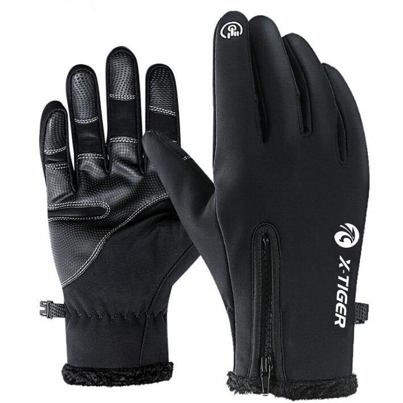 Warm Fleece Cycling Gloves