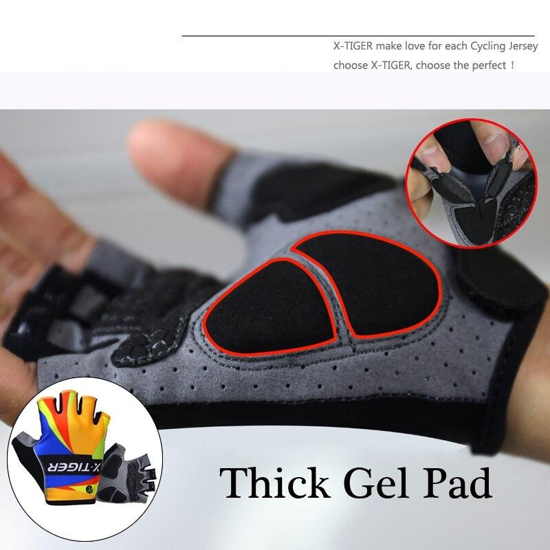 Abstract Cycling Gloves