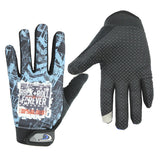 Men's and women's windproof warm all-in-one Cycling Gloves