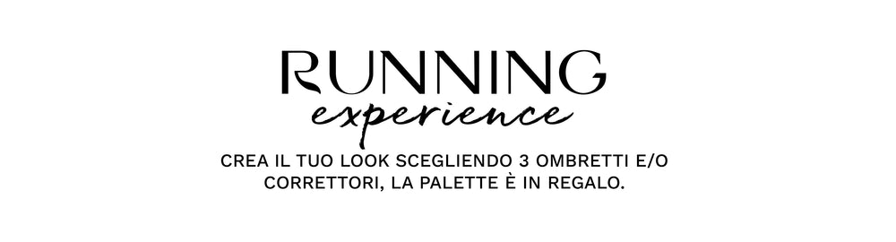 RUNNING PALETTE PERSONALIZZALA