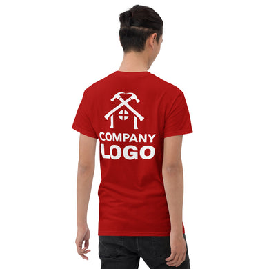 Short Sleeve T-Shirt (add your own logo or graphic, Back Only) - RKW Designs Online Marketplace