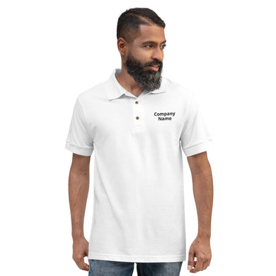 Embroidered Polo Shirt (add your own text) - RKW Designs Online Marketplace