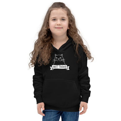 Not Today Youth Hoodie (add your own text) - RKW Designs Online Marketplace