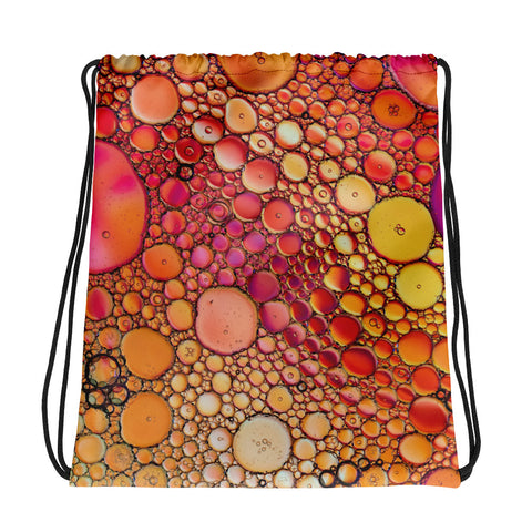 Bubble Frenzy Drawstring bag - RKW Designs Online Marketplace
