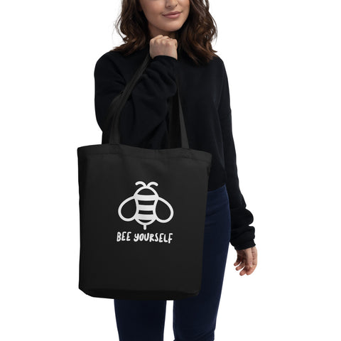 Bee Yourself Eco Tote Bag (add you own logo or graphic) - RKW Designs Online Marketplace