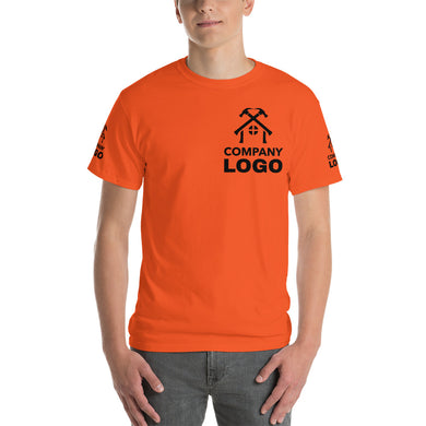 Short Sleeve T-Shirt (add your own logo or graphic, Front, Back and Sleeves) - RKW Designs Online Marketplace