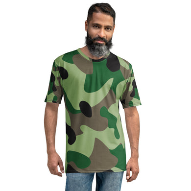 Green Camo Men's T-shirt - RKW Designs Online Marketplace
