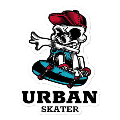 Urban Skater Bubble-free stickers - RKW Designs Online Marketplace