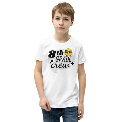 8th Grade Crew Youth Short Sleeve T-Shirt (add your own text) - RKW Designs Online Marketplace