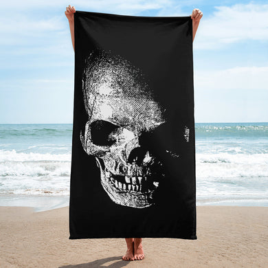 Shadow Skull Towel - RKW Designs Online Marketplace