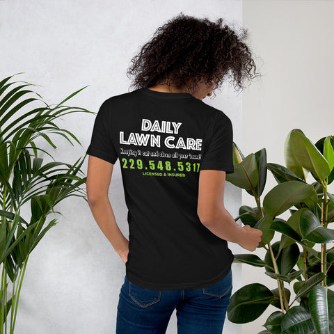 Daily Lawn Care Short-Sleeve Unisex T-Shirt - RKW Designs Online Marketplace