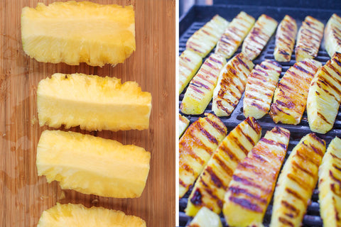 Grilled Pineapple Wedges