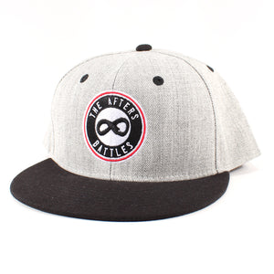 The Afters Logo Gray/Black Flat Bill Cap