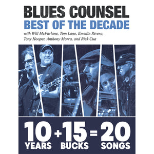 Blues Counsel - The Best of the Decade (CD)