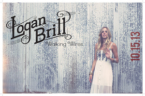 Logan Brill Limited Edition Album Print  (Numbered & Autographed, Only 250 Available)