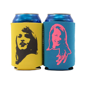 Koozie Set (Yellow & Blue)