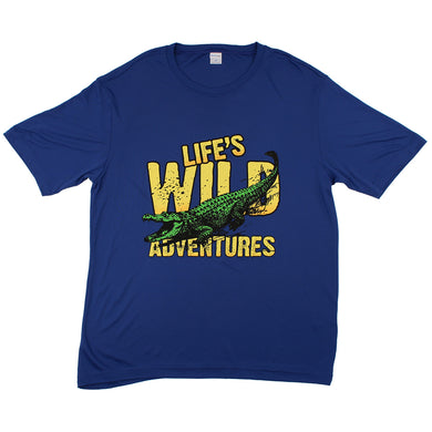 Alligator Tee (Blue)