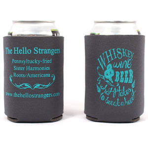 Whiskey Wine & Beer Koozie
