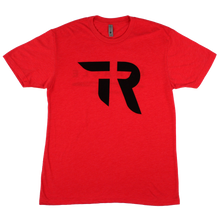 Load image into Gallery viewer, TR Logo/Miracle Tee (Red Heather)