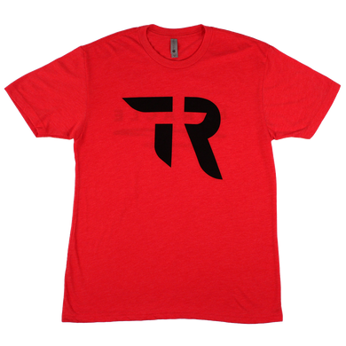TR Logo/Miracle Tee (Red Heather)