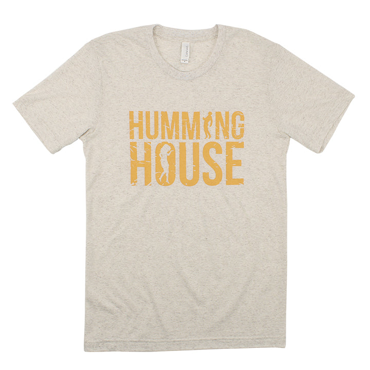Humming House Faded  (White Marble)