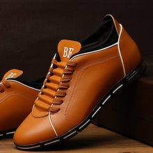 Load image into Gallery viewer, New England Male Breathable Leather Casual Shoes