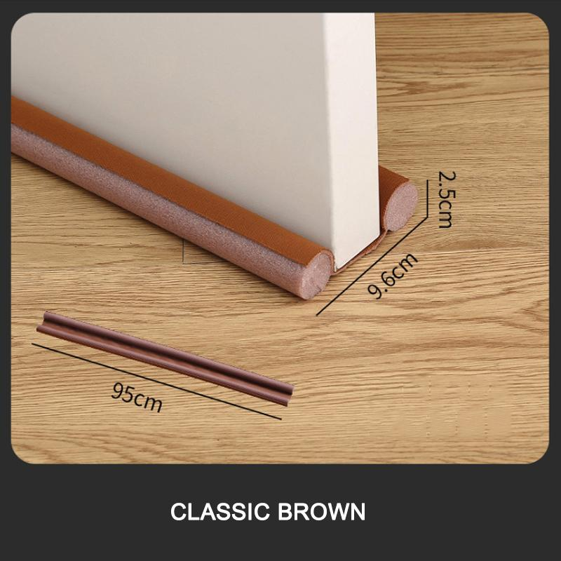 MQUPIN Flexible Door Bottom Sealing Strip(sound proof,noise reduction,dust proof)