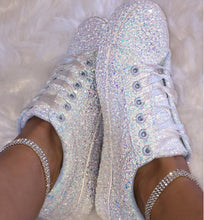 Load image into Gallery viewer, Women Glitter Fashion Sneakers