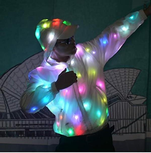 BFCM SALE-Waterproof LED Glowing Jacket