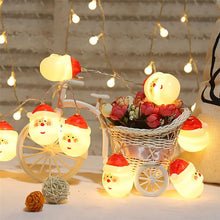 Load image into Gallery viewer, Christmas LED Indoor Bedroom String Lights HOME DECORATIVE LAMPS Smart saker Santa Claus 3