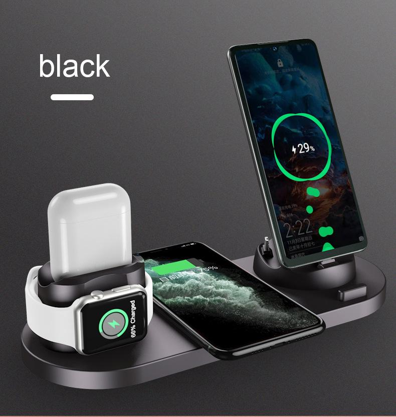 New Multifunctional Six-in-one Wireless Charger
