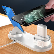 Load image into Gallery viewer, New Multifunctional Six-in-one Wireless Charger
