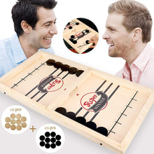Load image into Gallery viewer, Family Fun Wooden Hockey Games