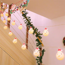 Load image into Gallery viewer, Christmas LED Indoor Bedroom String Lights