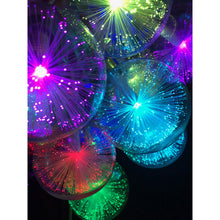 Load image into Gallery viewer, Light Show Ornament Strand (Fiber-Optic Illuminated Globes)