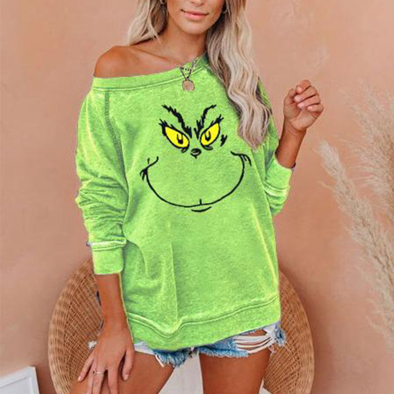 How the Grinch Stole Christmas Printed T-Shirt