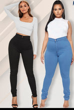 Load image into Gallery viewer, Stretch Plus-Size Denim Jeans