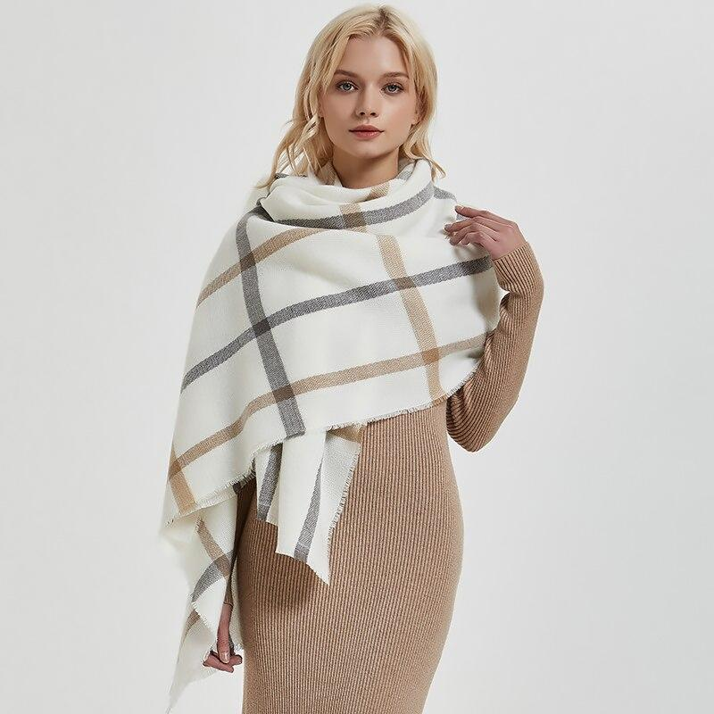 Soft Wool Knitted Scarf