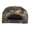 BURN in the USA snapback hat Big and Tall - Navy