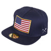 BURN in the USA snapback hat Big and Tall - Camouflage