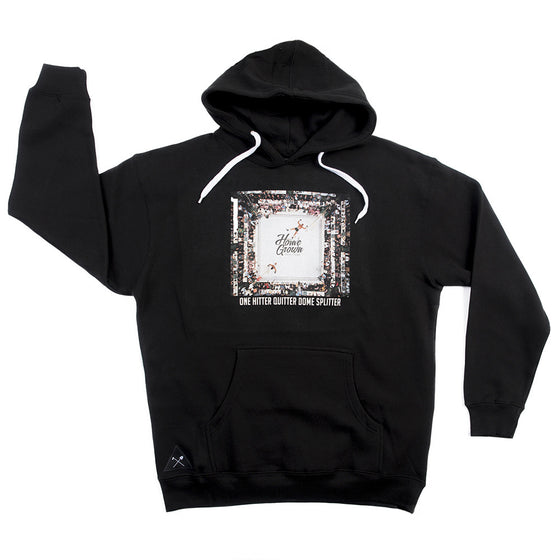 One Hitter Quitter Dome Splitter Hoodie - Black