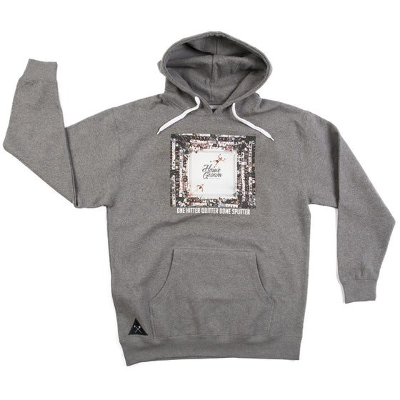 One Hitter Quitter Dome Splitter Hoodie - Heather Gray