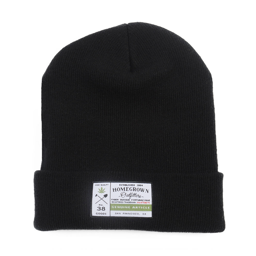 Genuine article beanie - Black