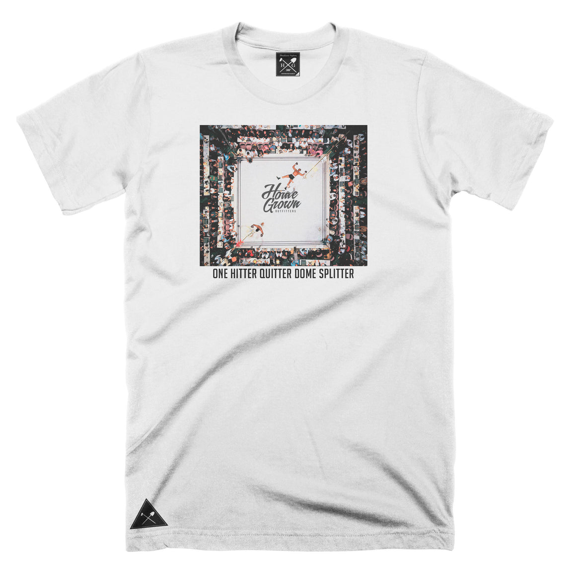 One Hitter Quitter Dome Splitter t-shirt - White