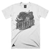 EmpHigher State T-Shirt Kush n Kicks x HomeGrown Collab - White