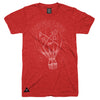 High Life T-Shirt - Red Heather